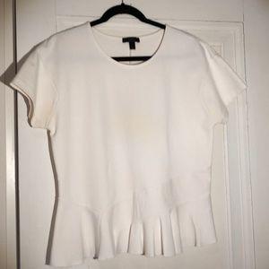 J. Crew cotton/nylon fancy T-shirt